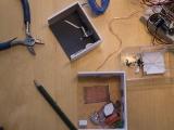 Szenen, Zubehör und Werkzeug.